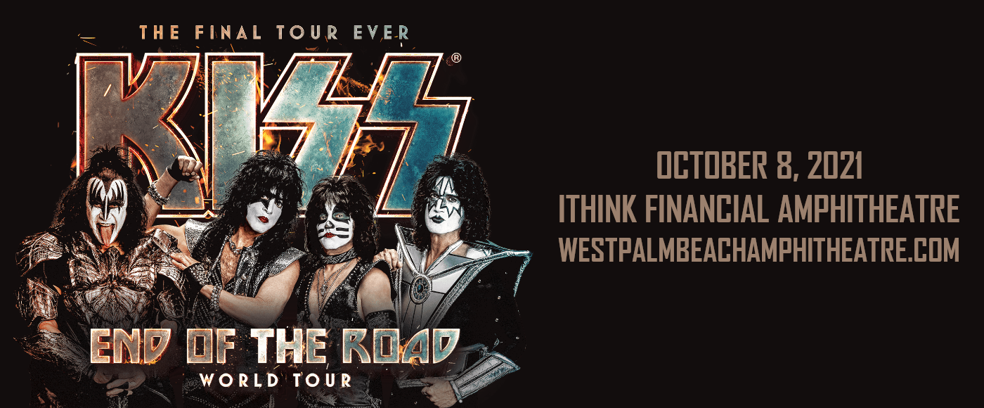 Kiss at iTHINK Financial Amphitheatre