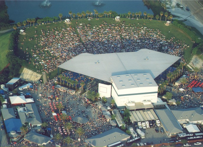 West Palm Beach C Sky Amphitheatre View